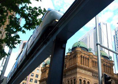 Le métro aérien de Sydney