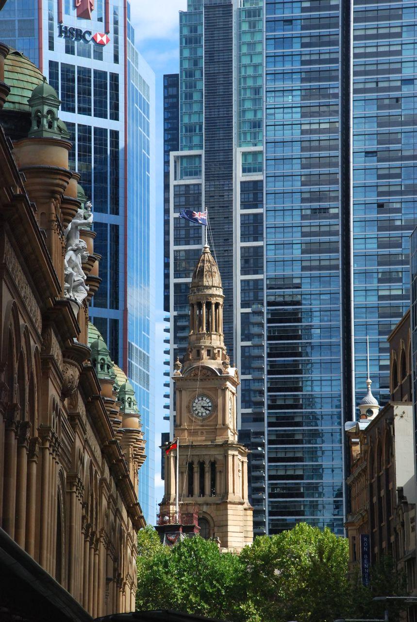 Sydney : le quartier d'affaires