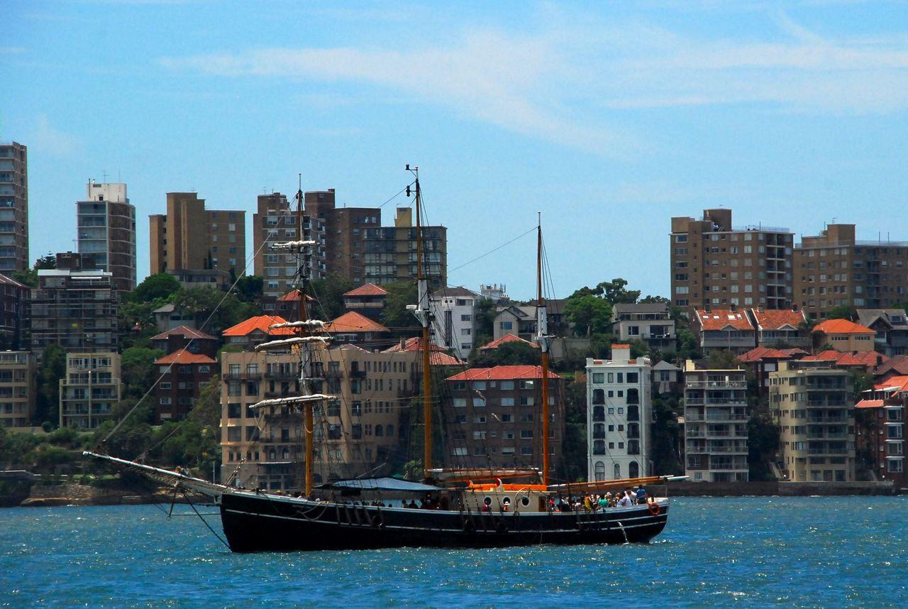 Vue urbaine de Sydney