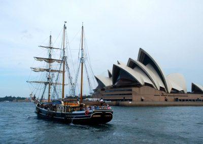 Baie de Sydney avec vue sur l'opéra