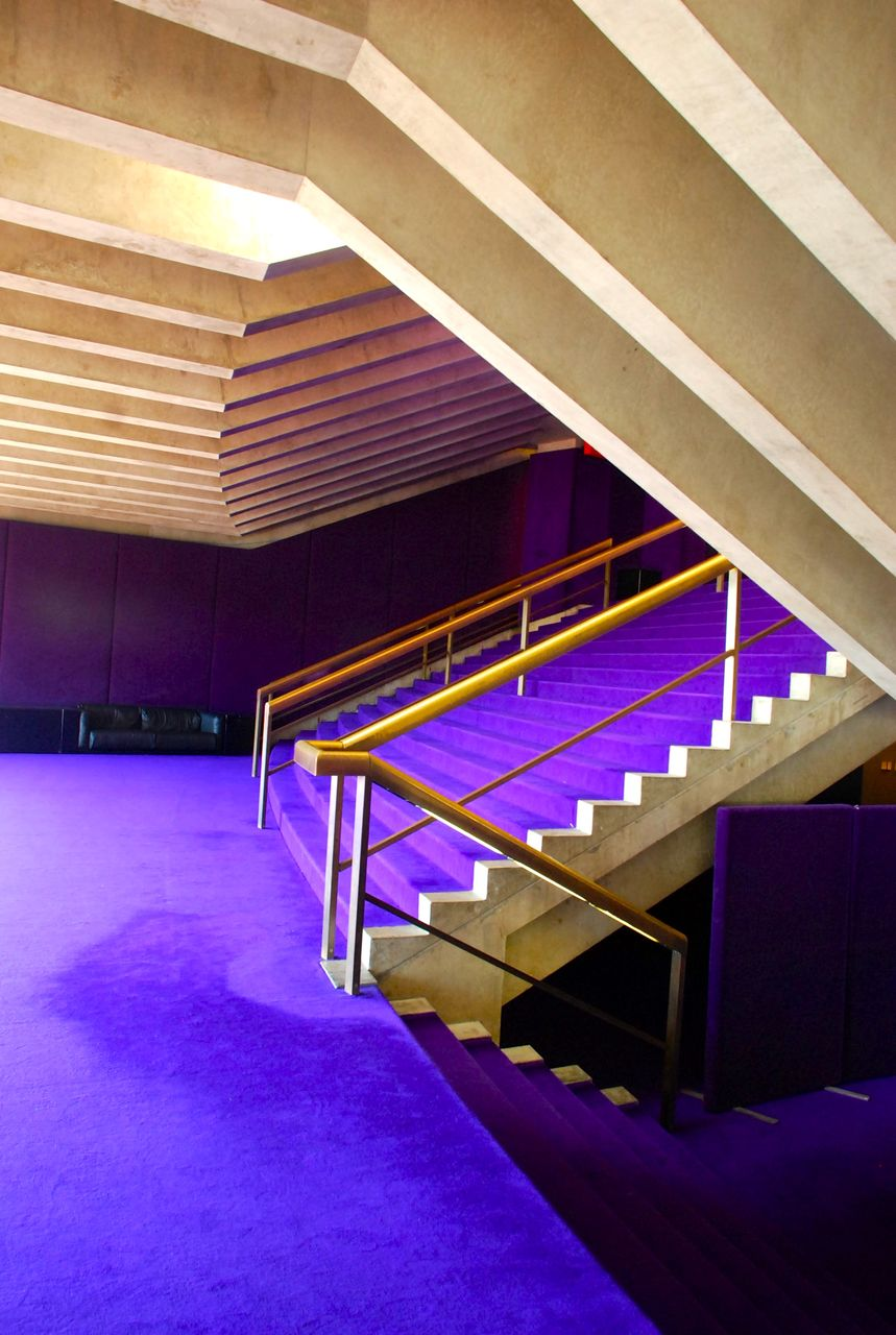L'intérieur de l'opéra de Sydney