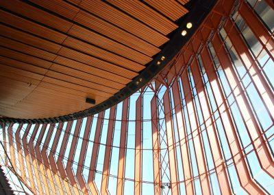 Opéra de Sydney : vue intérieure
