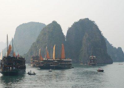 Paysage du Vietnam : La Baie d'Halong