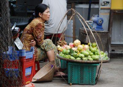 Marchande de Dong Ba, Hué