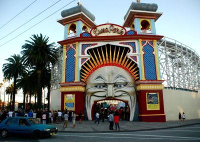 Luna Park à St Kilda