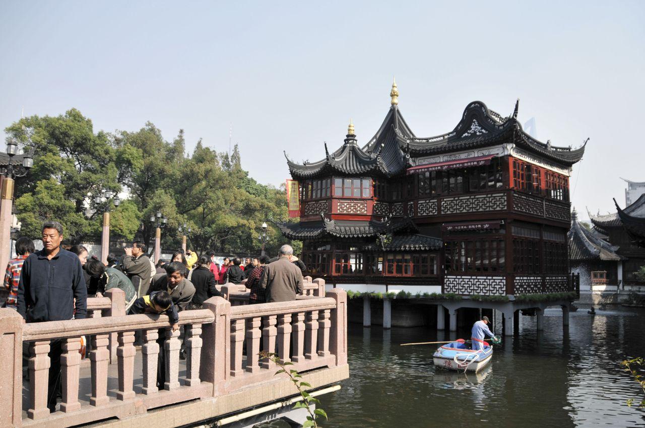 Le jardin Yuyuan à Shanghai - Belles photos