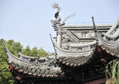 Toiture au jardin Yuyuan - Shanghai