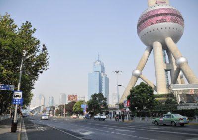 Pudong, et Tour TV à Shanghai