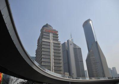 Pudong et ses boulevards aériens