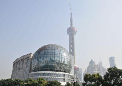 Vue sur Pudong - Shanghai