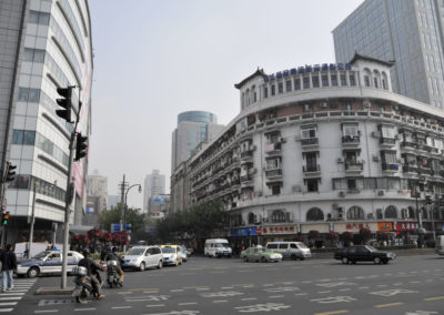 Place à Shanghai