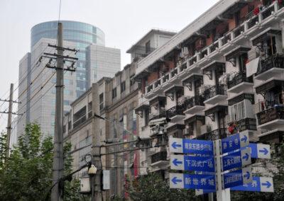 Dans les rues de Shanghai