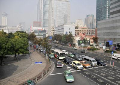 Avenues de Shanghai