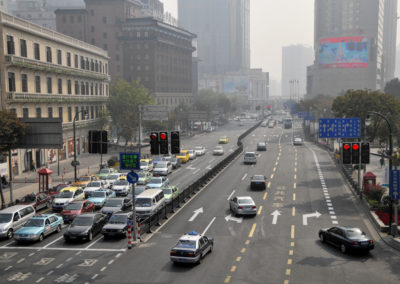 Intersection- Shanghai