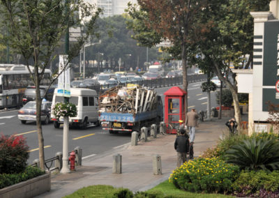 Trottoir Shanghai