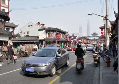 Rues de Shanghai