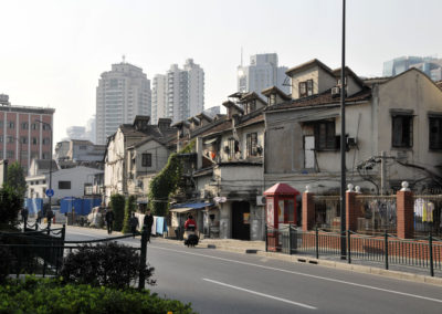 Maisons à Shanghai