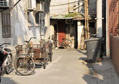 Vieux vélos à Shanghai