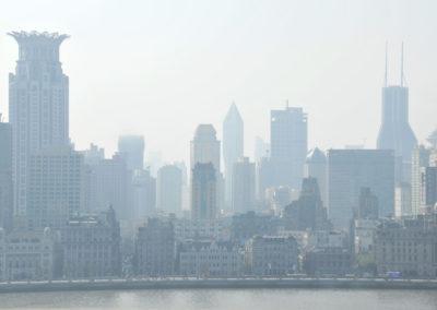 Dans la brume de Shanghai