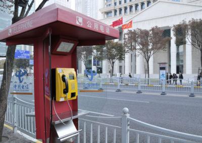 Téléphone public Shanghai