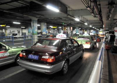 Taxis à Shanghai