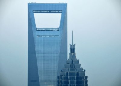 La Shanghai World Financial Center