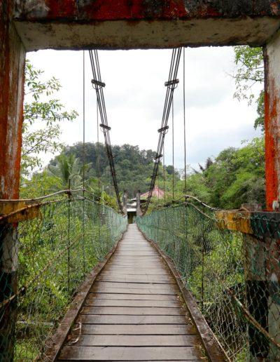 Canon G1xMkIII - Pont suspendu Borneo
