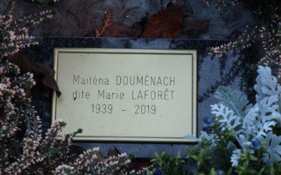 Marie Laforêt (1939-2019) au Père Lachaise